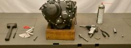 Honda CBR250R Engine Disassembly