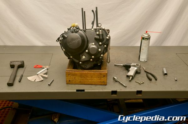 Honda Cbr250r Engine Disassembly