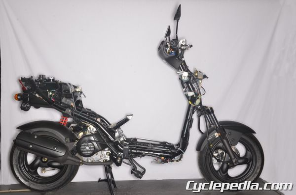 KYMCO Agility 50 Scooter Teardown