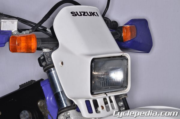 DR350SE headlight assembly cover