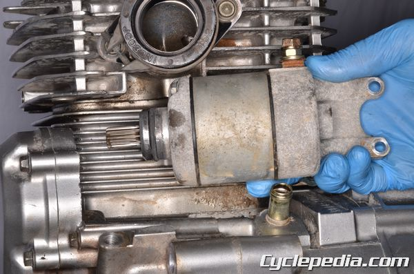 DR350SE Electric Starter Motor Troubleshooting Ignition and Charging System Testing