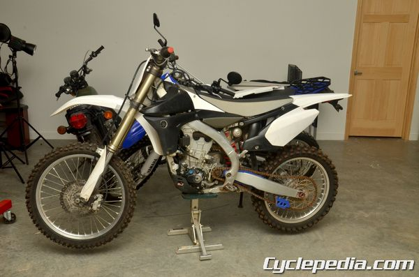 Fuel Injected Yamaha YZ450F