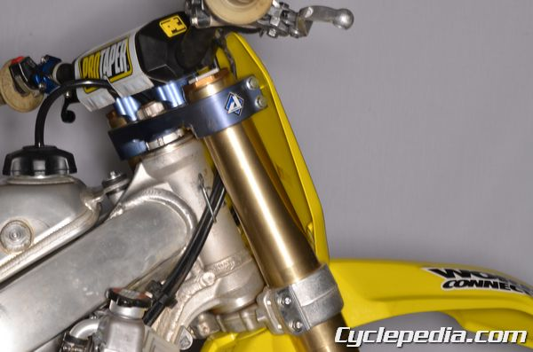 RMZ250 front fork removal and rebuild instructions