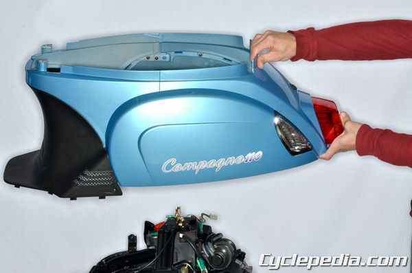 kymco_compagno_110_frame_body_covers_handlebar_luggage_box_exhaust_system