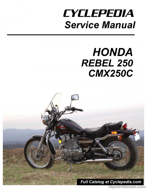 Cyclepedia Service Manuals Available in Print