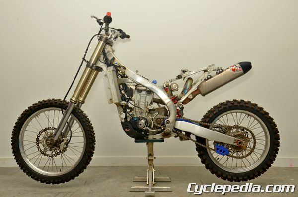 Yamaha YZ450F Online Motorcycle Service Manual 2010 - 2013 - Cyclepedia