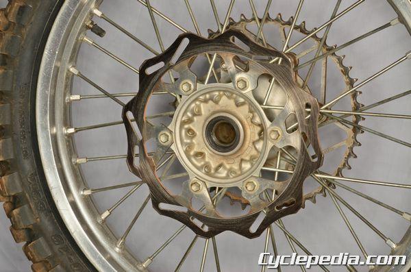 YZ450F Yamaha Brake Rotor Replacement