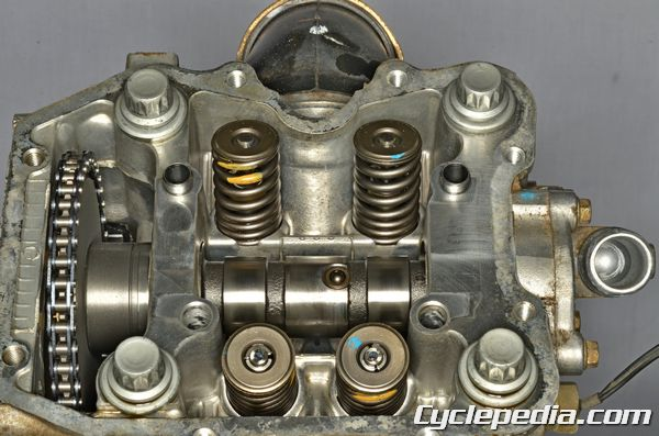 polaris fuji engines cyclepedia polaris sportsman 400 450 500 cylinder head