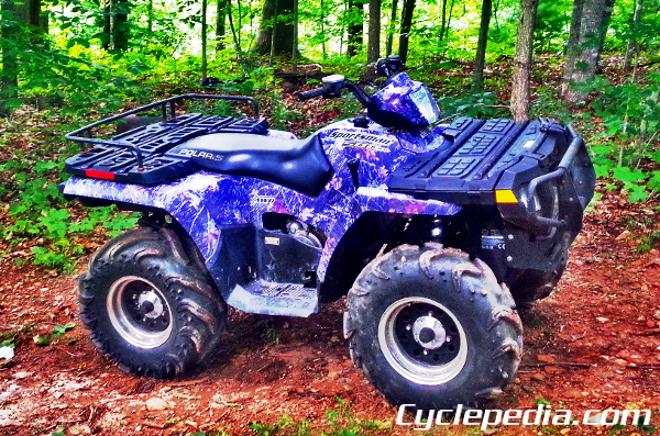 2004 2014 Polaris 400 450 500 Sportsman Carburated Atv Online Service Manual Cyclepedia