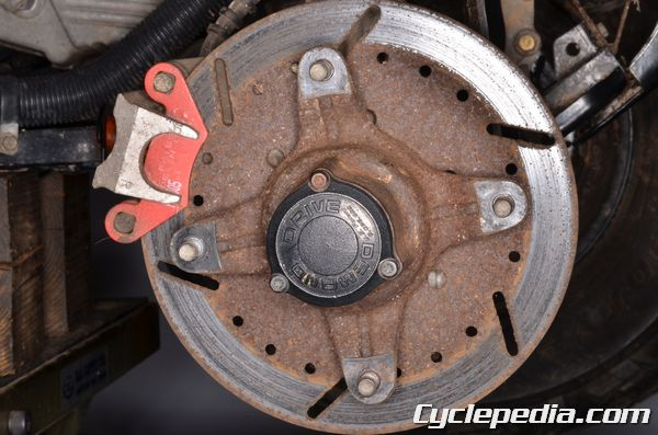 Polaris Front Hub Fluid Service - Cyclepedia