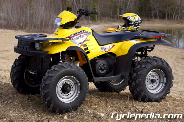 1996 - 2004 Polaris Sportsman 500 400 Online Manual
