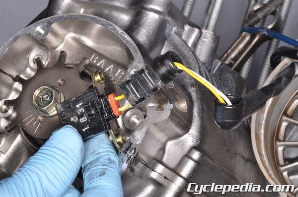 Honda CB750 Nighthawk Charging Battery Ignition Coil Pulse Generator Rotor Pickup Coil Starter Relay