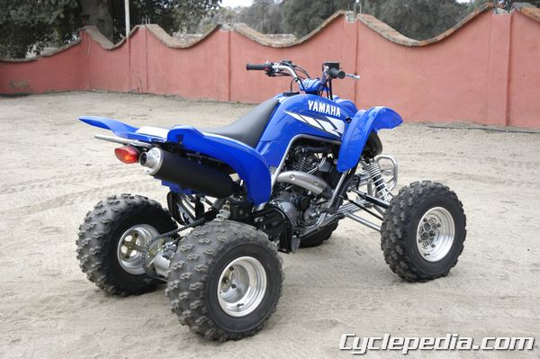 Cyclepedia Yamaha YFM 660 Raptor Service Manual - Cyclepedia