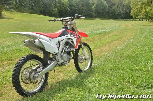 Honda crf 450 specs