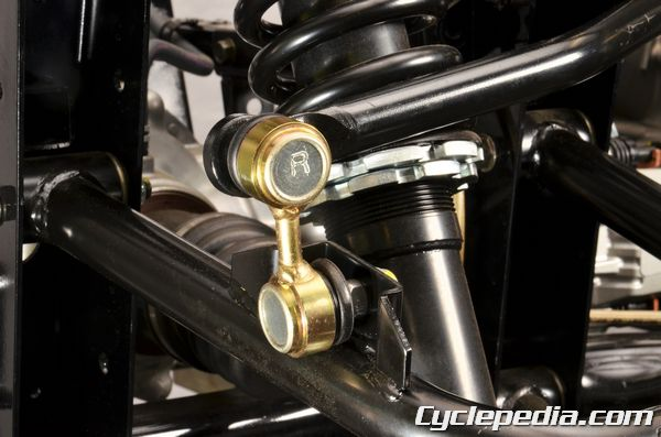 KYMCO UXV450i rear suspension sway bar tie-rods