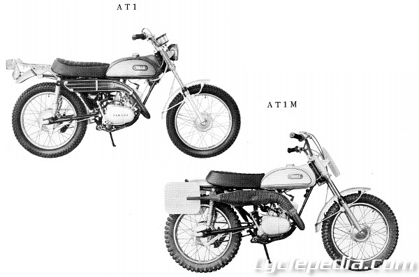 yamaha at1 wiring diagram   25 wiring diagram images