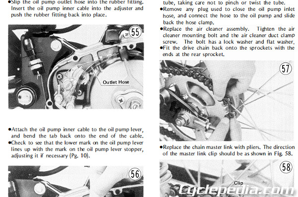 KE100 2 1971 1981 kawasaki g5 ke100 motorcycle online service manual Kawasaki G5 Wiring-Diagram at fashall.co