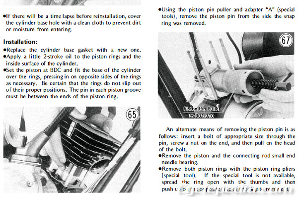 KE100 3 1971 1981 kawasaki g5 ke100 motorcycle online service manual Kawasaki G5 Wiring-Diagram at fashall.co
