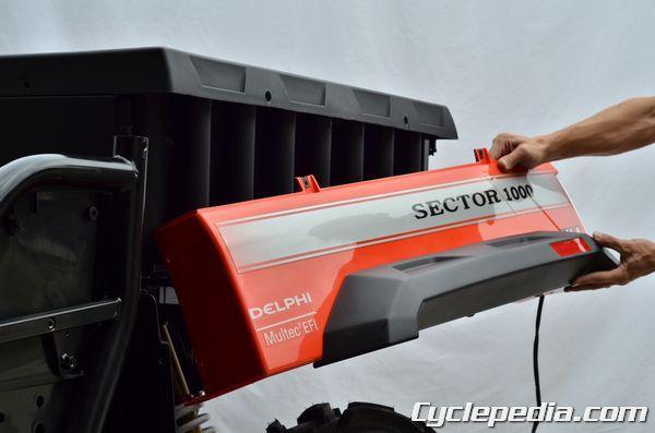 Hisun Sector 1000 Massimo Bennche Cowboy cargo bed fender