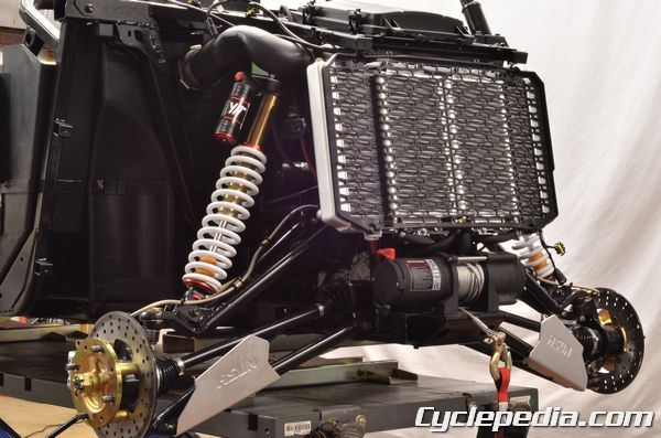 Hisun Strike 1000 Massimo Bennche Spire radiator overheating coolant draining repacment