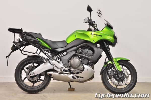 Kawasaki KLE650 Versys cyclepedia service manual