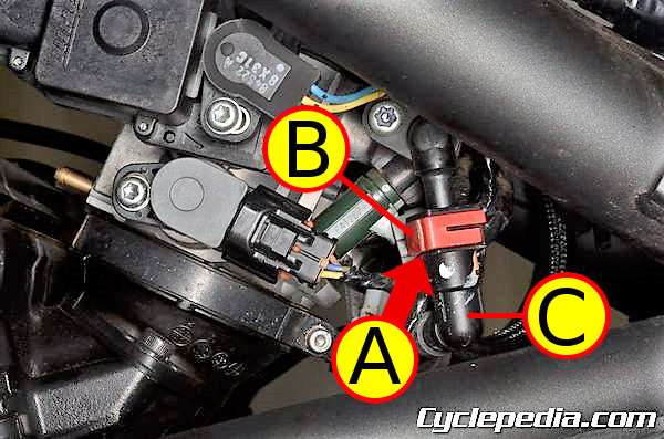 Kawasaki KLE650 Versys fuel system troubleshooting
