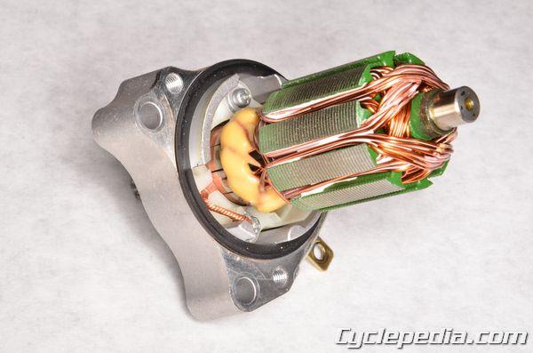 Kawasaki KLX110l electric starter motor system troubleshooting diagram