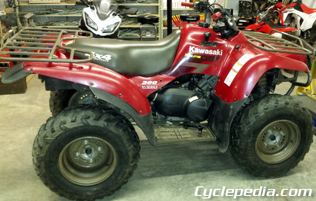 new cyclepedia manual coming kawasaki prairie 360 atv cyclepedia rh cyclepedia com 2003 kawasaki prairie 360 manual 2003 kawasaki prairie 360 manual
