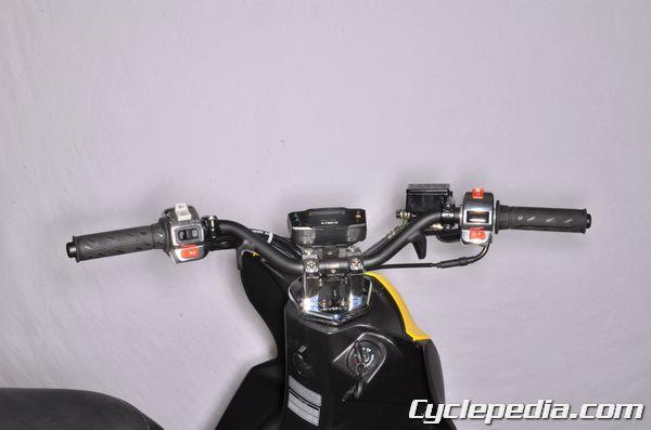 KYMCO SUPER8 150 50 R X steering bearings handlebars