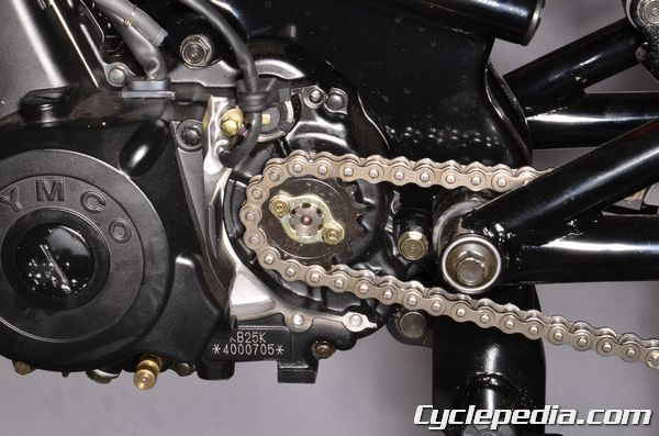 KYMCO K-pipe chan and sprockets