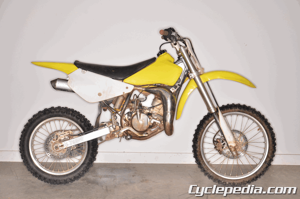 Suzuki RM85 RM85L 2005 and newer online service manual instant access .pdf wiring diagram
