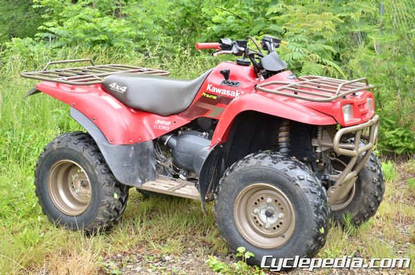 kawasaki kvf360 prairie atv manual now available cyclepedia rh cyclepedia com kawasaki prairie 360 4x4 manual kawasaki prairie 360 owner's manual