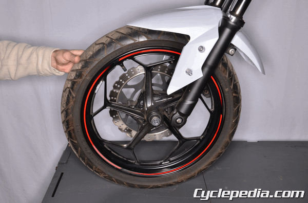 Kawasaki Ninja Rear Wheel Removal