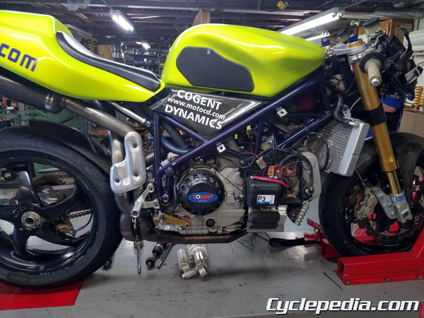 DR650 Shock Rebuild with Cogent Dynamics - Cyclepedia