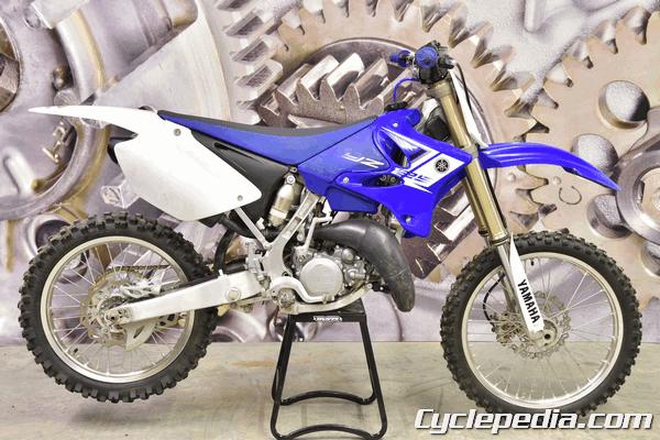 Yamaha YZ125 (2 Stroke) 2005-2020 Online Motorcycle Service Manual