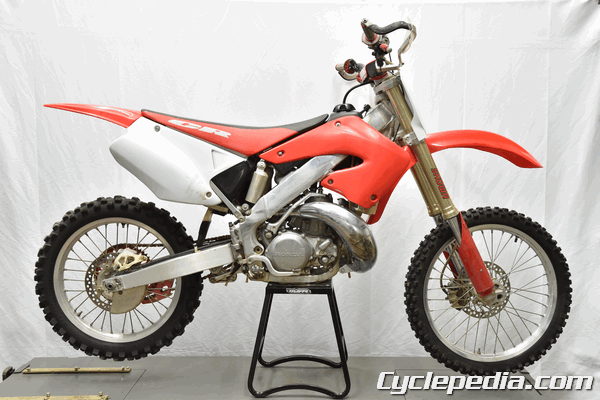 2000 - 2001 Honda CR250R Online Motorcycle Service Manual