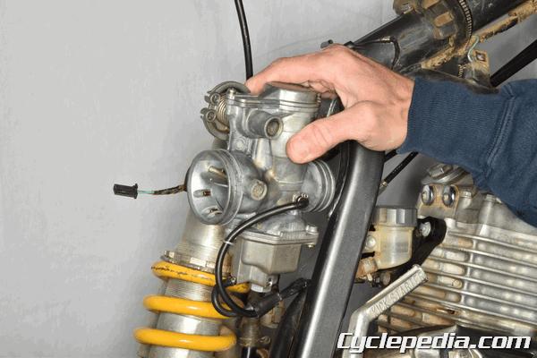 Carburetor Replacement Honda XR400R